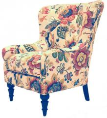 Traditional Track Arm Chair