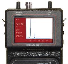Resonance Tester System, RT-1