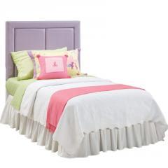 Chelsea Full Lavender Upholstered Headboard