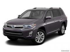 Toyota Highlander Hybrid New Car