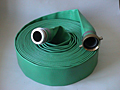 Medium Duty PVC Discharge Hose - Green