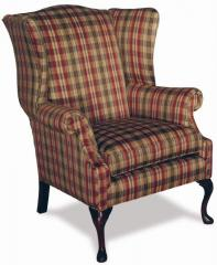 High Leg Traditional Wing Chair