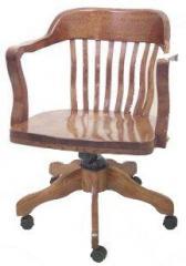 English Oak Office Chair