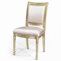 Gilt Eglomise Side Chair