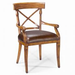 Seating Provincial Carved Arm Chair