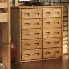 Bunkhouse 10 Drawer Mule Chest