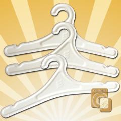 Hangers made from Cereal Straw 100% Compostable