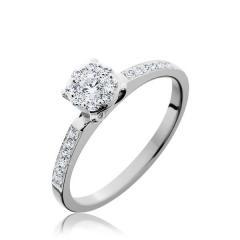 14K White Gold Endless Diamond® Petite Engaged™