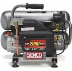 Senco Compressor-- 4.3 Gal. Twin Tank, 2.5 HP, 125