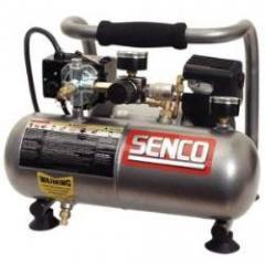 Senco Compressor-- 1 Gal., 1HP, 110 Volt, Oil Free