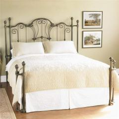 Interlude Decorative Metal Bed