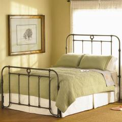 Wellington Iron Headboard and Footboard Bed