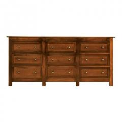 Taylor J 9 Drawer Triple Dresser