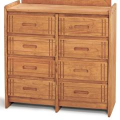 Woody Creek Pine 8-Drawer Dresser
