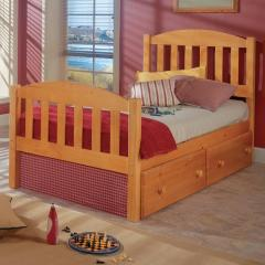 Pine Ridge Full Pine Mission Bed