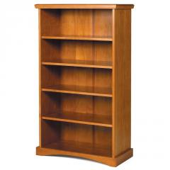 Pine Ridge 5-Shelf Bookshelf