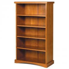 Pine Ridge 5-Shelf Bookshelf