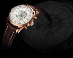 Transocean Chronograph Unitime Watch