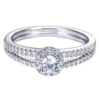 Angel's Halo - Ready to Give! 14kt White Gold