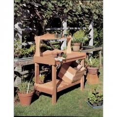 Rustic Cedar - Potting Bench