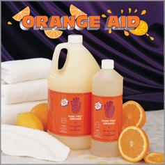 Pure Pro Orange Linen Degreaser™ for Sheets