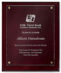 Distinguished Award Plaque