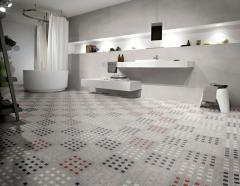 Viva 21 Grey White Tile