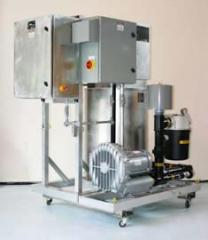 FALCO 300 with VFD controlled 10hp dilution blower