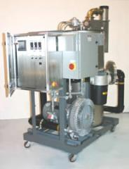 FALCO 600 with VFD controlled 15hp dilution blower