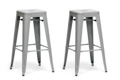 French Industrial Modern Bar Stool