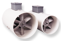 Duct High-Pressure Fans, Agri-Aide®