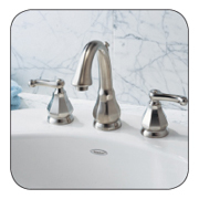 Decorative plumbing fixtures and faucets