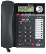 AT&T 2-Line corded speakerphone