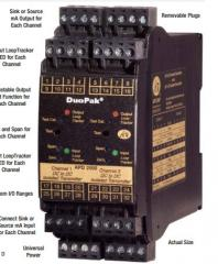DuoPak® Two Channel Isolated Transmitter