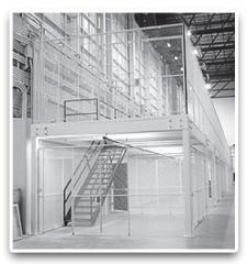 Modular Steel Mezzanines