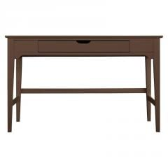 Dana Writing Desk Chocolate Antique With Stripe