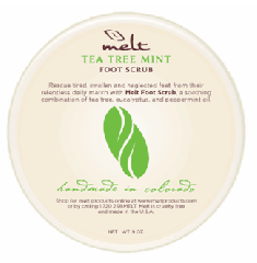 Foot Scrub, Tea Tree Mint