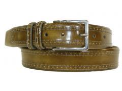Mezlan calfskin belt