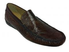 Mezlan crocodile slip-on loafer