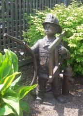 Sculpture of a Young Boy