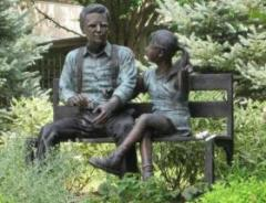 Talking Times Bronze Sculpture