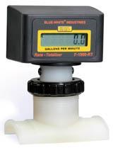 "Blue-White Digi-Meter (flow meter), 1.5"""
