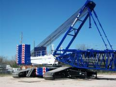 2011 Liebherr LR1600-2 Crane