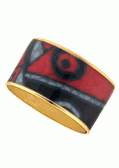 Maya™ Abstract Expressionism Bangle Bracelets