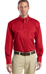 Long Sleeve SuperPro Twill Shirt