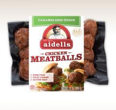 Caramelized Onion Meatballs