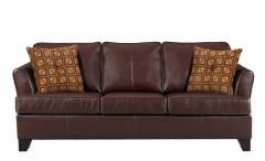 Umber Brown Queen Size Sofa Bed