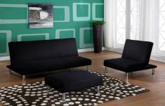 Black Klik Klak Sofa Bed