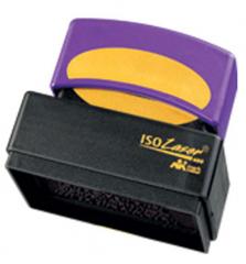 9 Line ISO Laser Pre-Inked Stamp