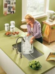 Lancelot Stainless steel 18 gauge single bowl sink